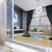 100平米时尚现代简约室内榻榻米装修效果图