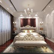 大户型时尚简约卧室装修效果图