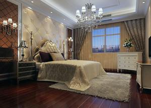 90平米大户型欧式风格卧室设计装修效果图