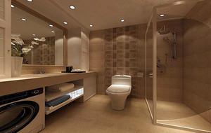 欧式风格别墅型卫生间吊顶装修效果图案例