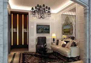 现代欧式风格美容院房间装修效果图