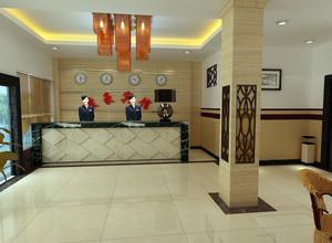 现代宾馆室内吊顶装修效果图实例