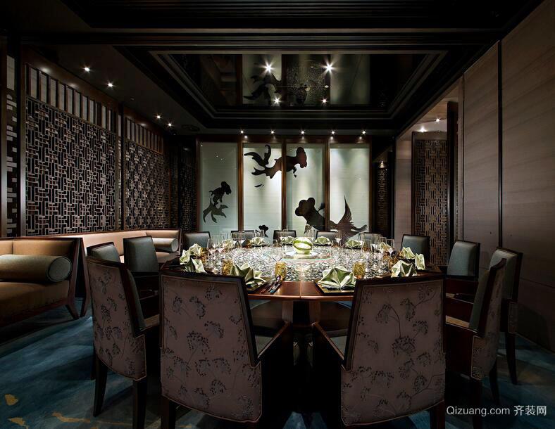 2016现代都市餐厅设计装修效果图欣赏