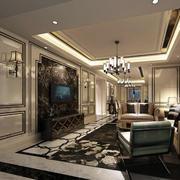 2016欧式风格精致的现代别墅装修效果图