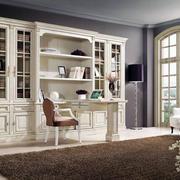 北欧风格精致书房装修效果图