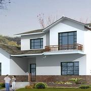 现代别墅整体图