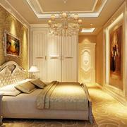 华丽欧式卧室装修效果图