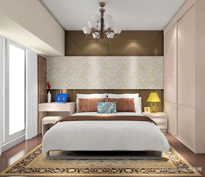 100平米现代风格简约卧室装修效果图