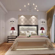 现代风格简约时尚卧室吊灯装修效果图