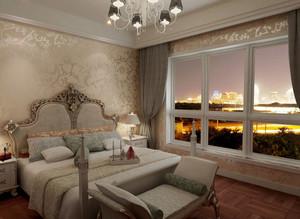 欧式风格跃层卧室装修效果图