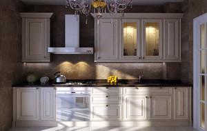 别墅型精致欧式风格厨房吊顶装修效果图欣赏