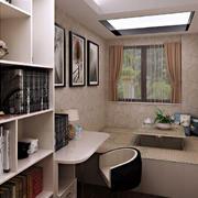 现代风格简约书房装修效果图