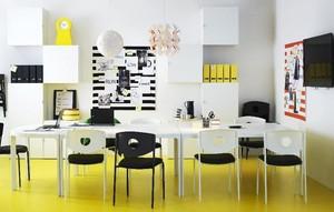 2016宜家风格办公室室内设计装修效果图