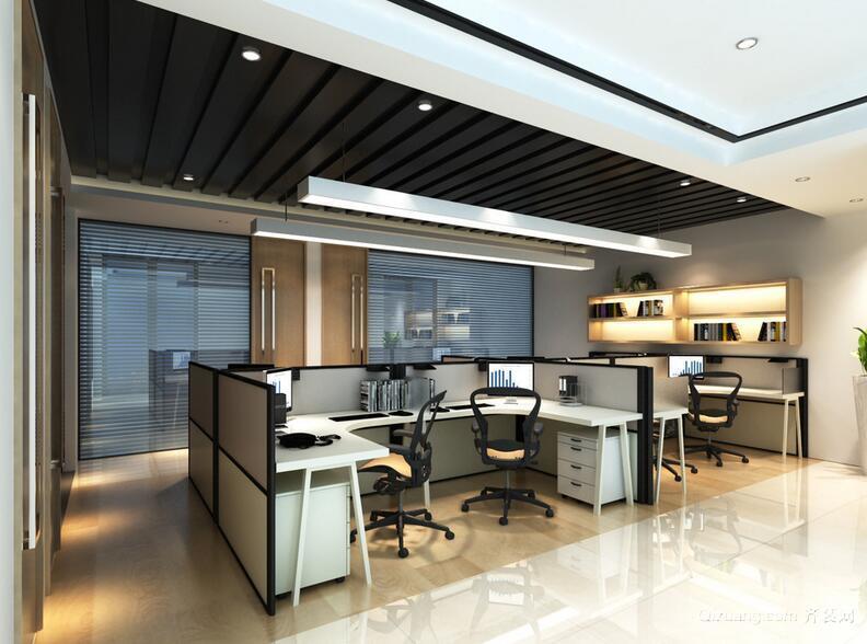 2016完美的精致办公室室内设计装修效果图