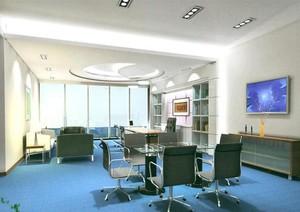 2016完美的清新办公室室内设计装修效果图
