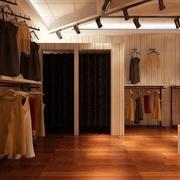 小户型60平米宜家服装店背景墙装修效果图实例
