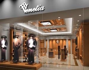精致的大户型服装店室内设计装修效果图欣赏