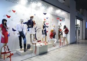 都市唯美的大户型服装店室内装修设计效果图