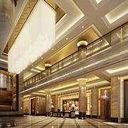 2016精致的时尚酒店室内吊顶装修效果图