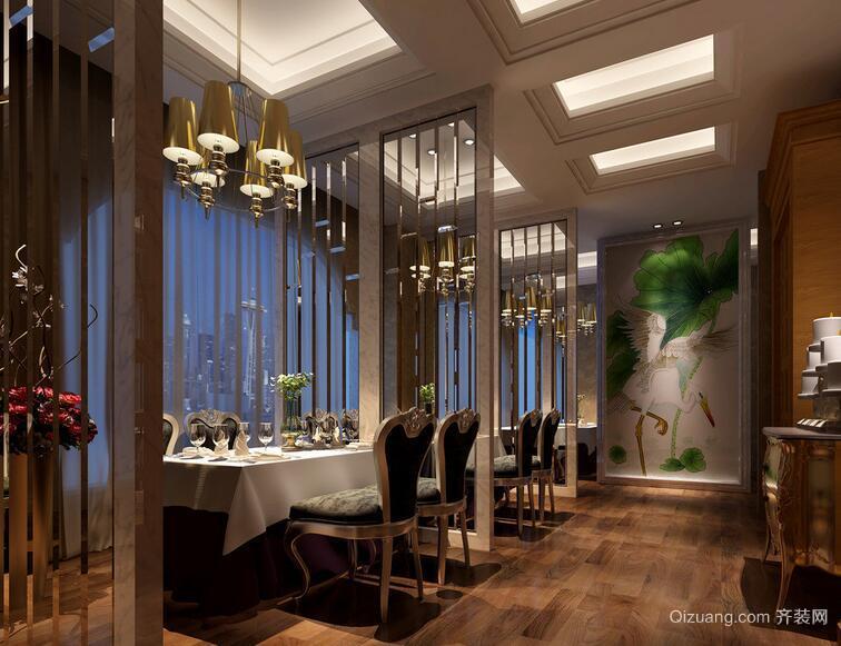 2016都市酒店背景墙室内设计装修效果图