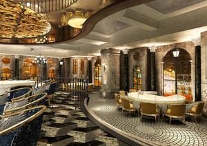 2016朴素的酒店室内背景墙装修效果图实例