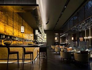 110平米精致的餐厅室内吊顶装修效果图欣赏
