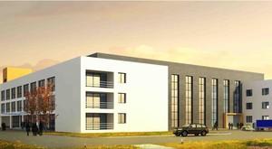 200平米精致的大户型厂房设计装修效果图实例