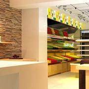 简约风格唯美的现代水果店装修效果图