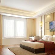 卧室窗帘装修图