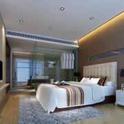 现代简约卧室整体设计图