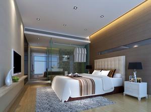 白领小资们钟爱的现代简约卧室装修效果图