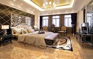 大户型别墅欧式风格卧室装修效果图