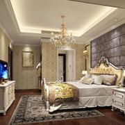 奢华欧式卧室家居整体效果图