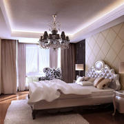时尚简约卧室装修效果图