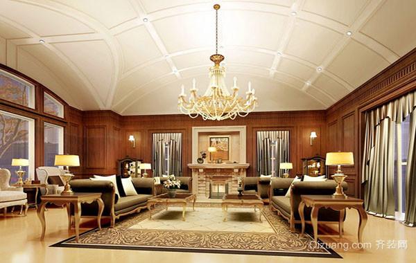 奢华别墅欧式风格客厅装修效果图大全
