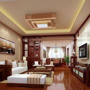 现代时尚卧客厅吊灯装修效果图