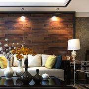 现代时尚混搭客厅装修效果图
