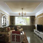 欧式风格客厅整体设计