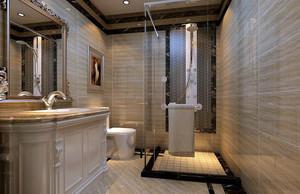 现代简约风格卫生间装修效果图