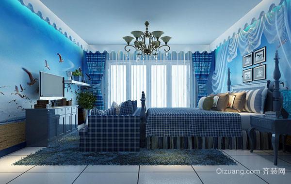 海洋主题儿童房装修效果图