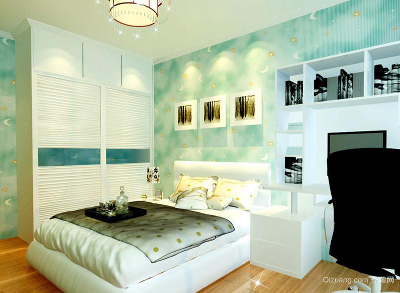 地中海风格儿童房卧室装修效果图
