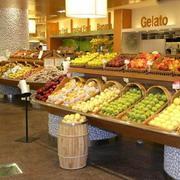 100平米宜家风格水果店室内装修设计效果图