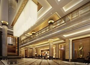 120平米宜家宾馆室内吊顶装修效果图欣赏