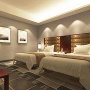 精致的宾馆室内吊顶设计装修效果图欣赏