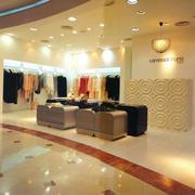 200平米独特的服装店室内背景墙装修效果图鉴赏