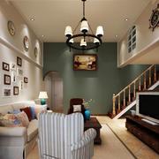 复式小楼客厅装修效果图