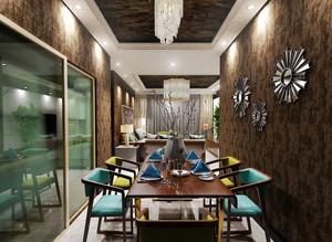 后现代风格时尚餐厅装修效果图
