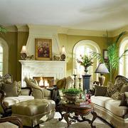 古典欧式风格客厅中装修效果图