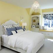 欧式时尚简约卧室效果图