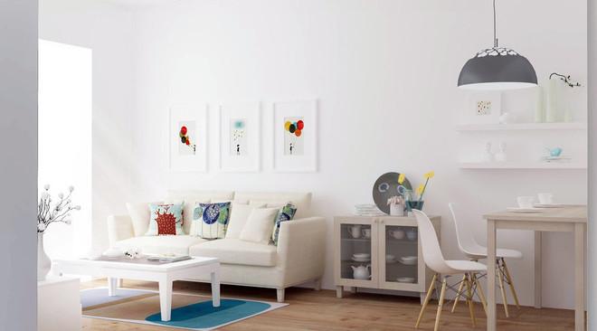 极简主义风格客厅装修效果图